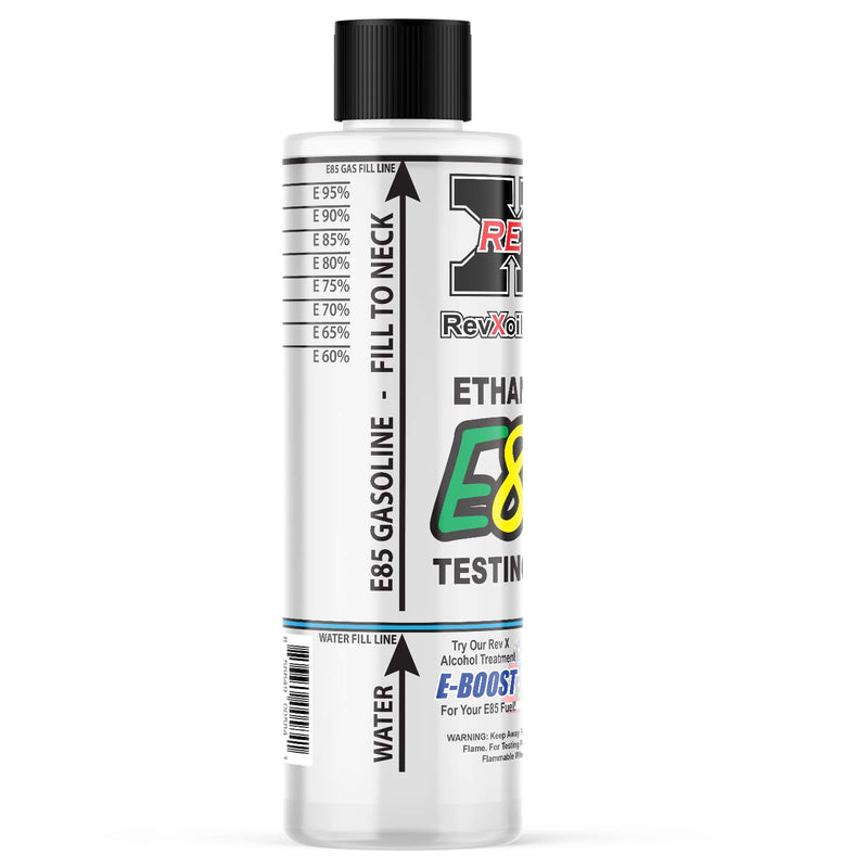 REV X E85T0501 E85 Gasoline Tester - Easy to Use Ethanol Test Kit - CocoonPower Australia