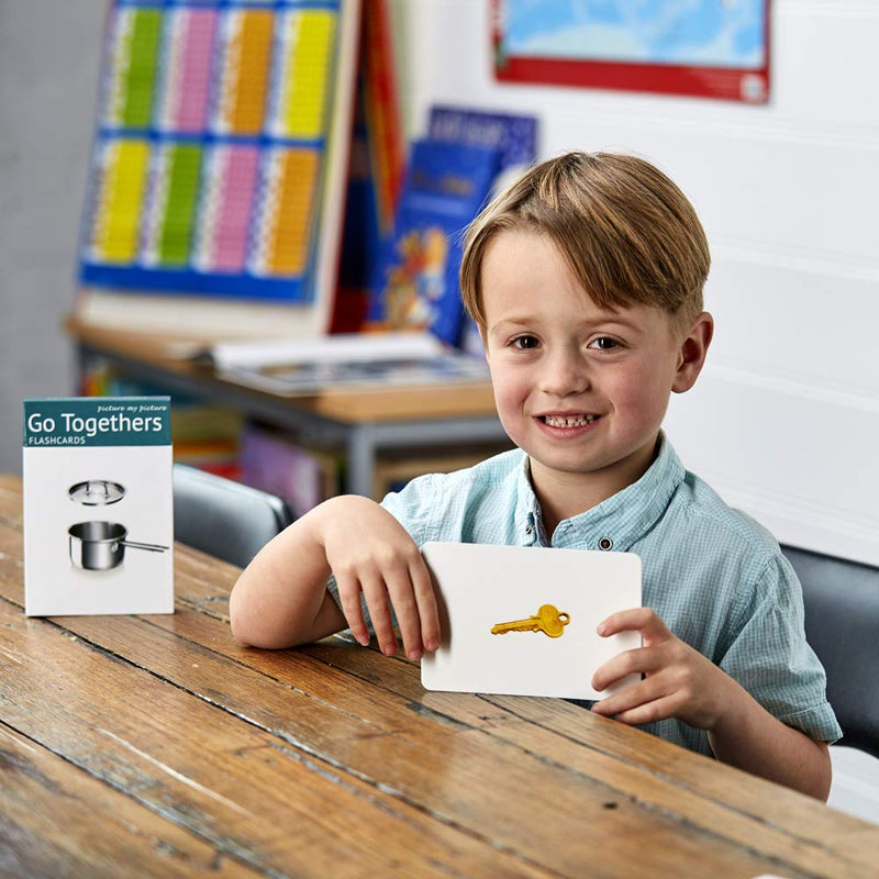 Picture My Picture Go Together Flash Cards: 40 Association Language Photo Cards