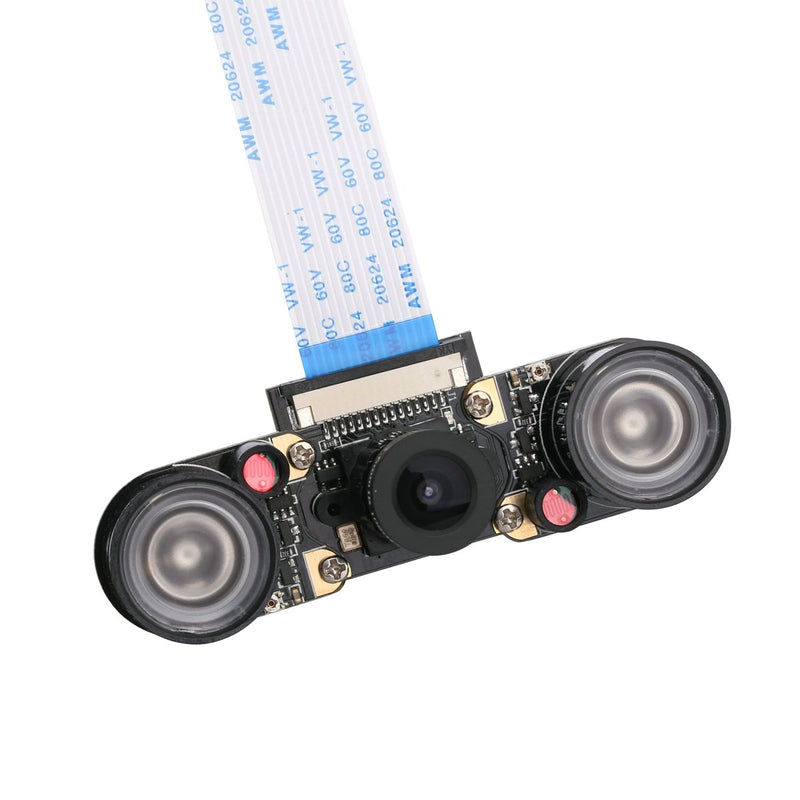 Australia Unistorm Raspberry Pi 3 Camera Module Night Vision with 3.6mm Adjustable Focal Length 2pcs IR Sensor LED Light Also for Raspberry Pi 3 Model B+ and Model B
