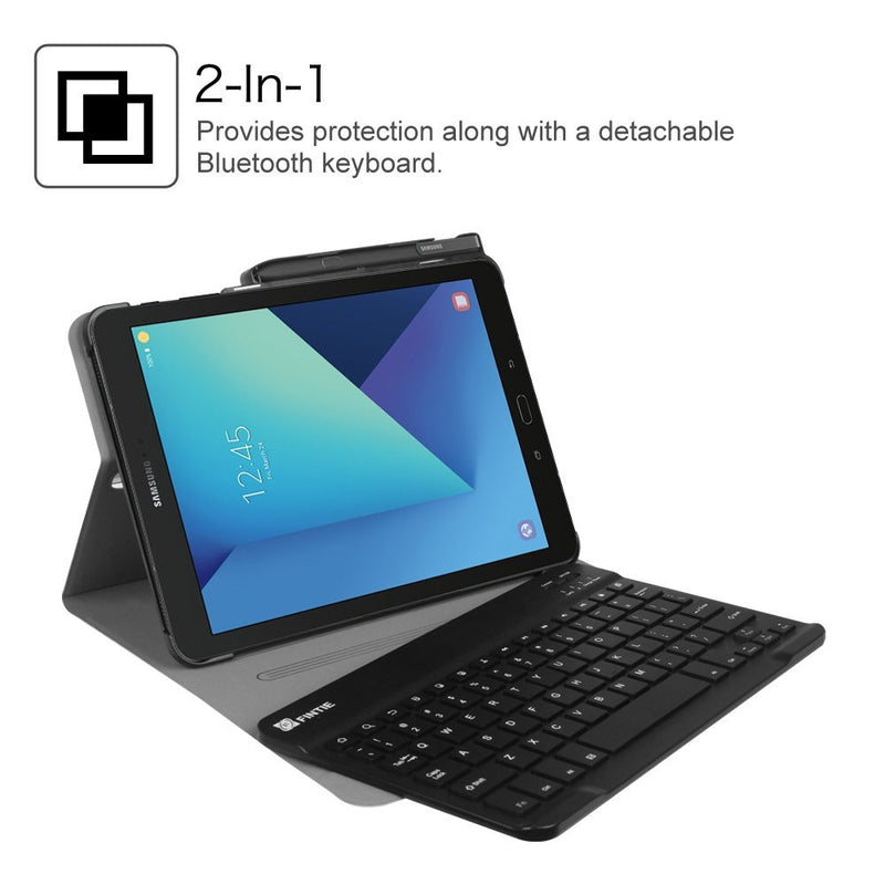 Fintie Keyboard Case for Samsung Galaxy Tab S3 9.7, Smart Stand Cover