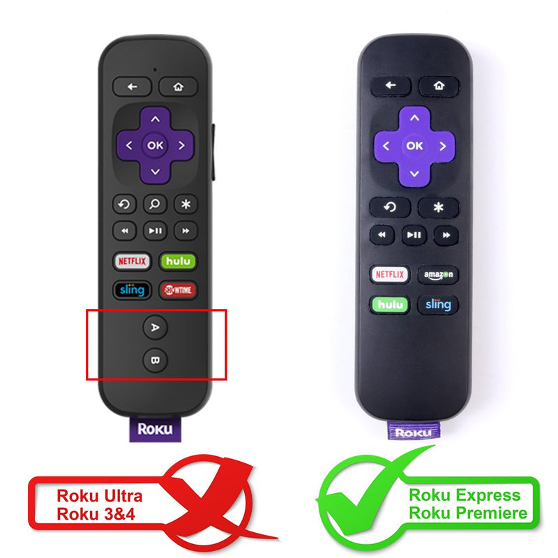 Roku Express Remote Case SIKAI Shockproof Protective Cover for Roku Ex