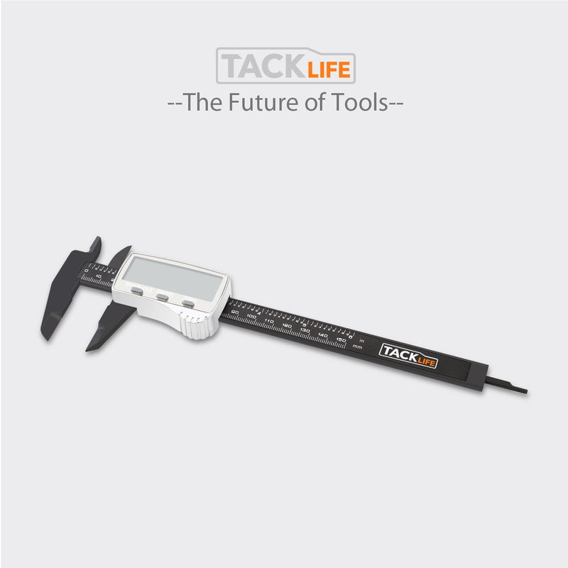 Australia Tacklife DC01 Digital Caliper 6 Inch with 2 inches Wide Super Clear Display Inch/Fractions/Millimeter Conversion