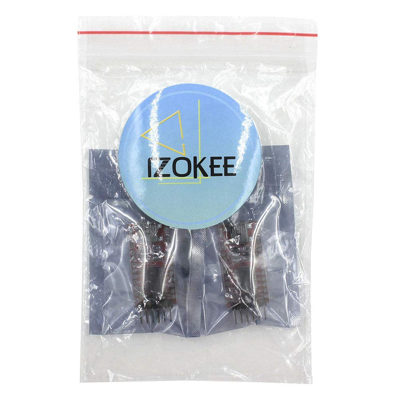 Australia IZOKEE 2pcs 3.3V 5V FT232RL FTDI USB To TTL Serial Converter Adapter Module for Arduino Mini Port