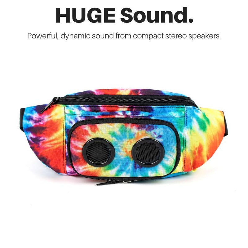 4a6925925c64 The #1 Fannypack with Speakers. Bluetooth Fanny Pack for  Parties/Festivals/Raves/Beach/Boats. Rechargeable, Works with iPhone &  Android. #1 ...