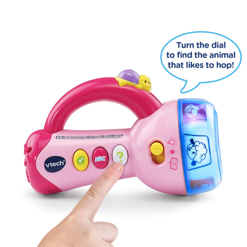 Australia VTech Spin & Learn Color Flashlight, Pink