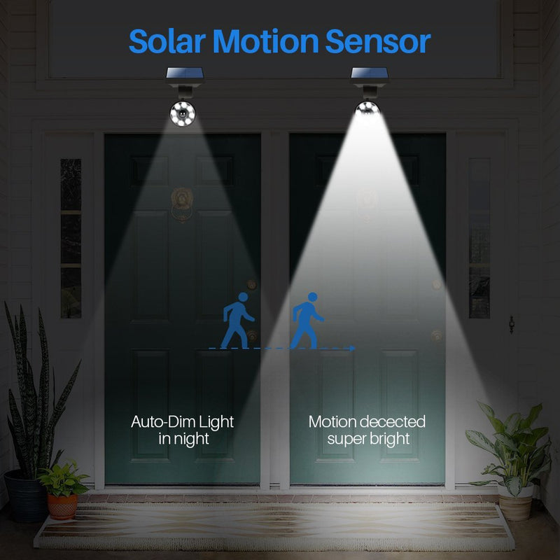 DrawGreen Solar Flood Lights Outdoor Motion Sensor Australia