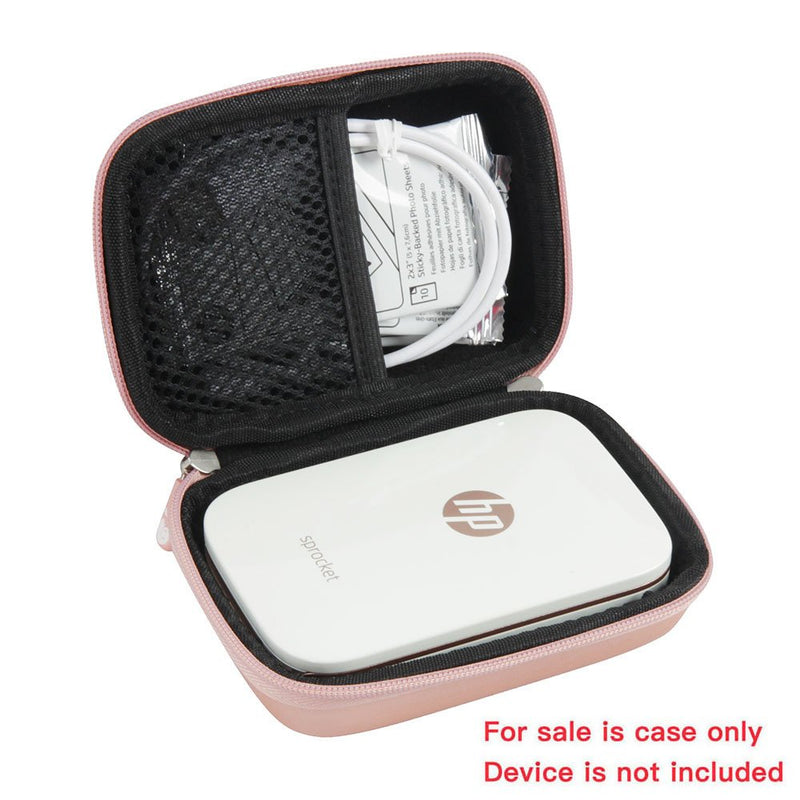 Australia Hard EVA Travel Case for HP Sprocket Portable Photo Printer by Hermitshell (Rose Gold)