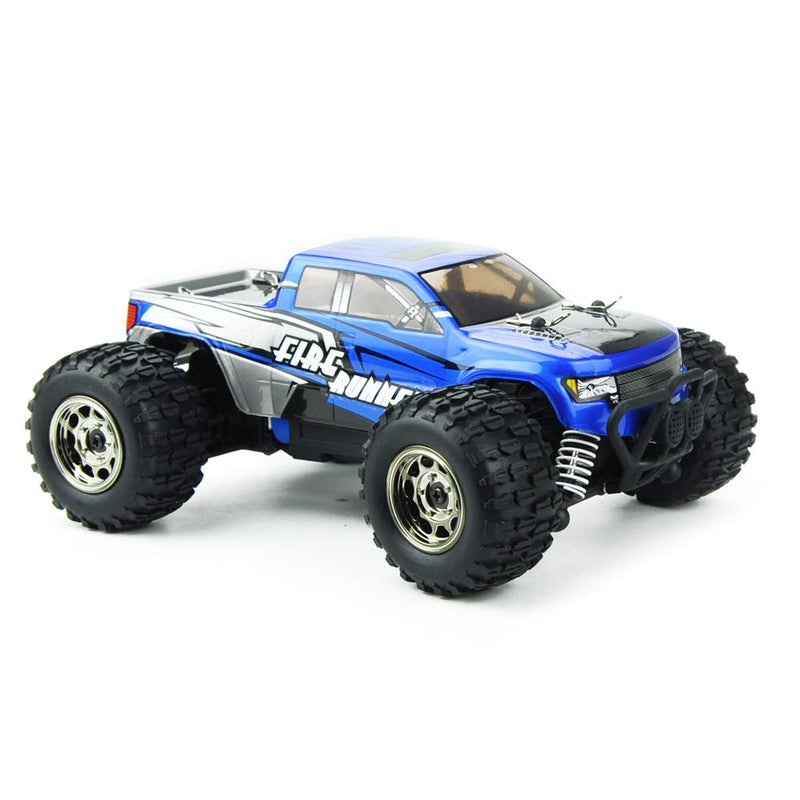 Australia Mini RC Cars Fire Runner 1/24 Scale 4WD Off-Road Trucks Radio Control, Electric Power Vehicle 28 KM/H High Speed Monster Truck Waterproof RTR for Kids and Adults