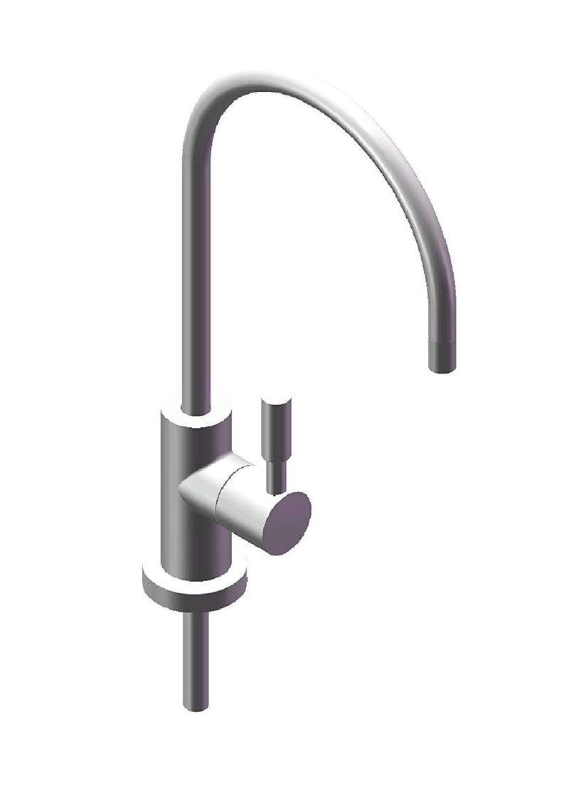 Australia Avanti Designer Kitchen Bar Sink Reverse Osmosis RO Filtration Drinking Water Faucet - NSF certified, ceramic disk, lead-free, non-air gap - RF888-CP Polished Chrome