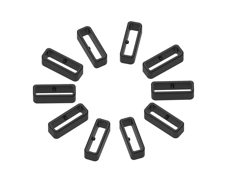 Replacement Secure Rings for Garmin Forerunner 220 235 230 620 630 735XT Bands(Pack of 10) Silicone...