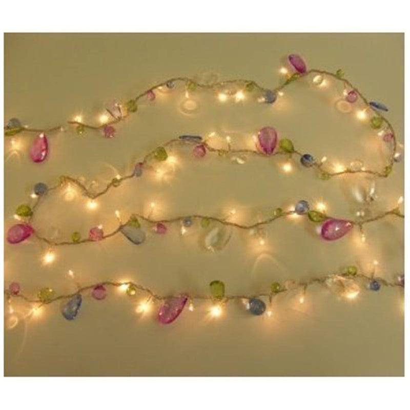 Australia DealBeta [Updated Version] Indoor House String Lights-Bohemia Style String Jewels-Colorful Jewels LED Fairy Christmas Lights-Battery Powered-8 Mode- Remote-Timer,30 Warm White LED Gift Lights Girl