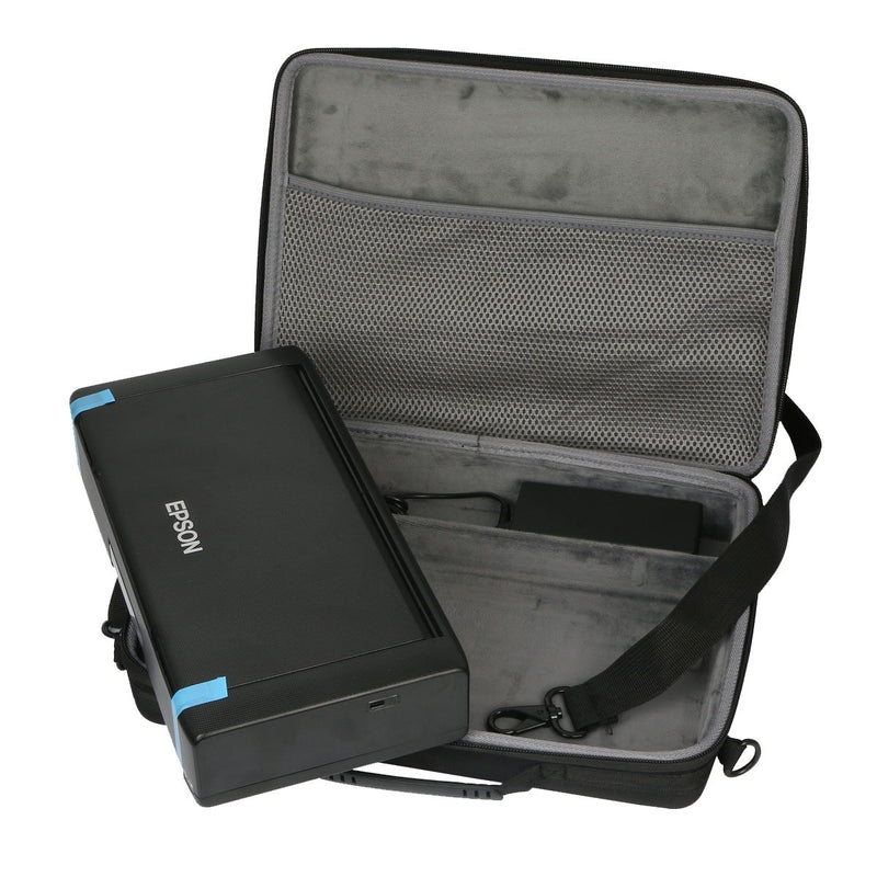 Co2Crea Hard Travel Case Bag for Epson Workforce WF-100 Wireless Mobile Printer (Only Case)