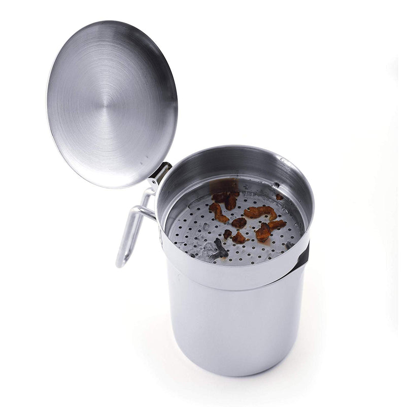 Norpro Stainless Steel Grease Catcher/Strainer