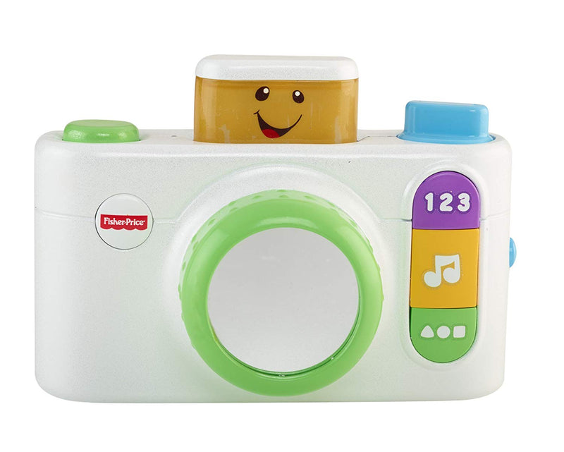 Australia Fisher-Price Laugh & Learn Click 'n Learn Camera, White
