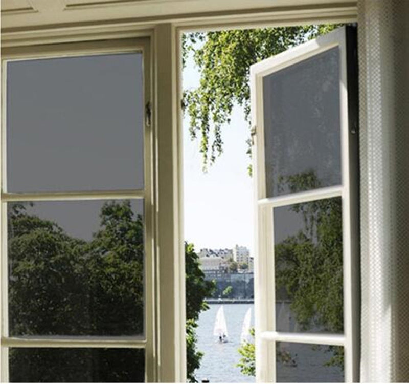 bofeifs Window Tint for Home Solar Film Heat Control Window Film Office Privacy Glass Window Sticker Smooth Glass 23.6x78.7Inch,Black