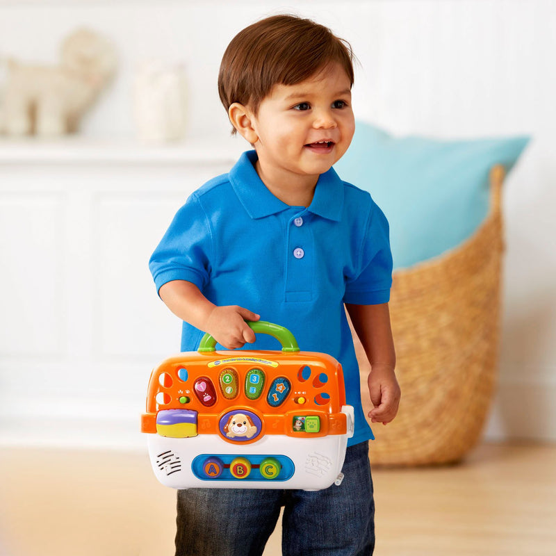 Australia VTech Care for Me Learning Carrier Toy, Orange
