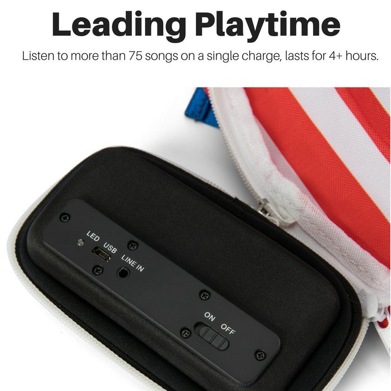 3f6c3e8e909f The #1 American Flag Fannypack with Speakers. Bluetooth Fanny Pack for