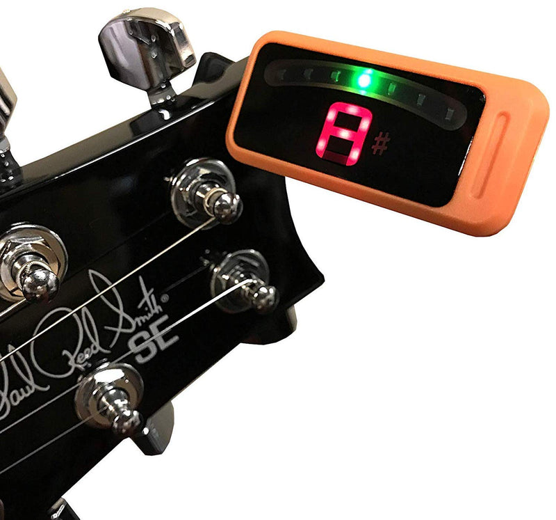 Australia Korg Clip Orange Guitar Tuner PC0OR