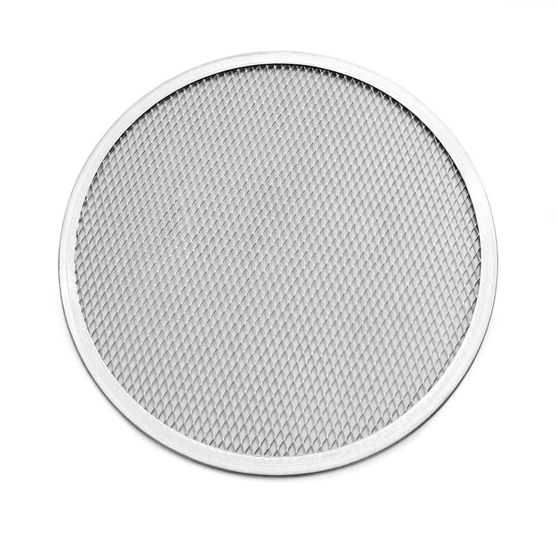 New Star Foodservice 50660 Seamless Aluminum Pizza Screen, Commercial Grade, 10-Inch