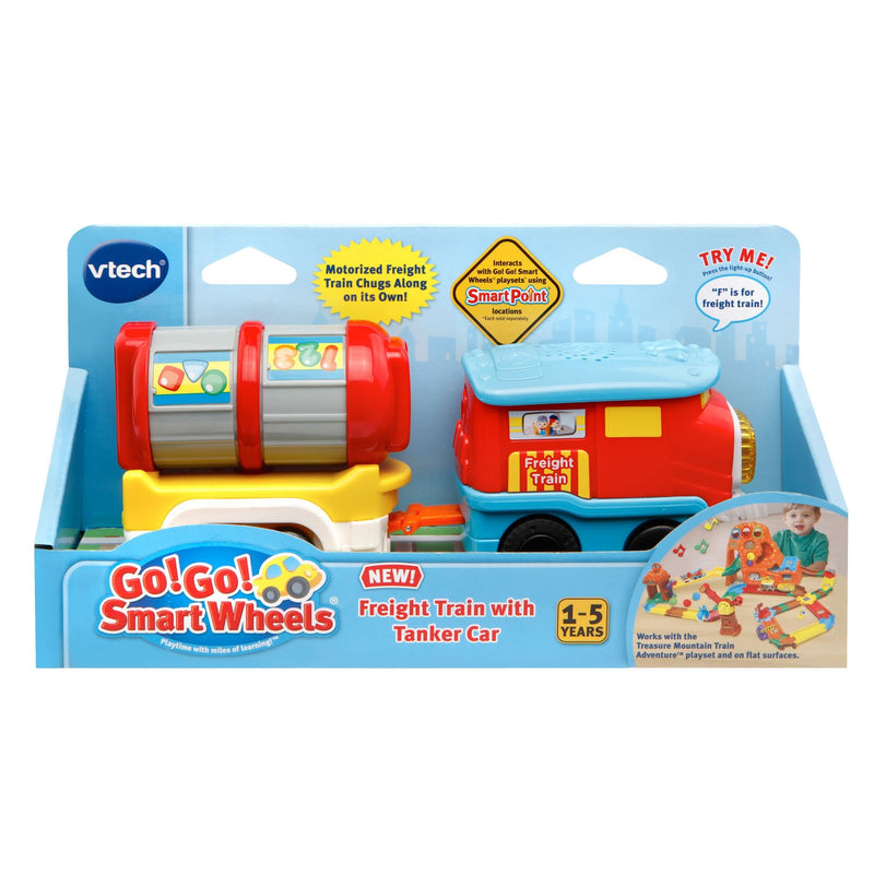 Australia VTech Go! Go! Smart Wheels Freight Train with Tanker Car