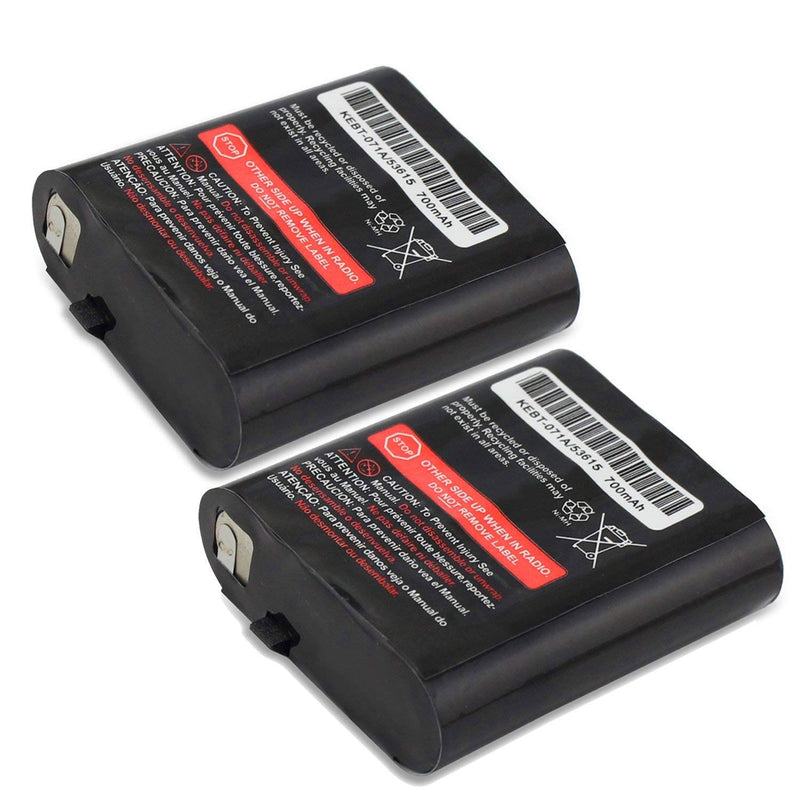 Australia Replacement KEBT-071A/53615 Battery Packs, TFSeven 2Pcs 700mAh Talkabout Rechargeable Battery for Motorola Talkabout 2/Two Way Radios Walkie Talkie