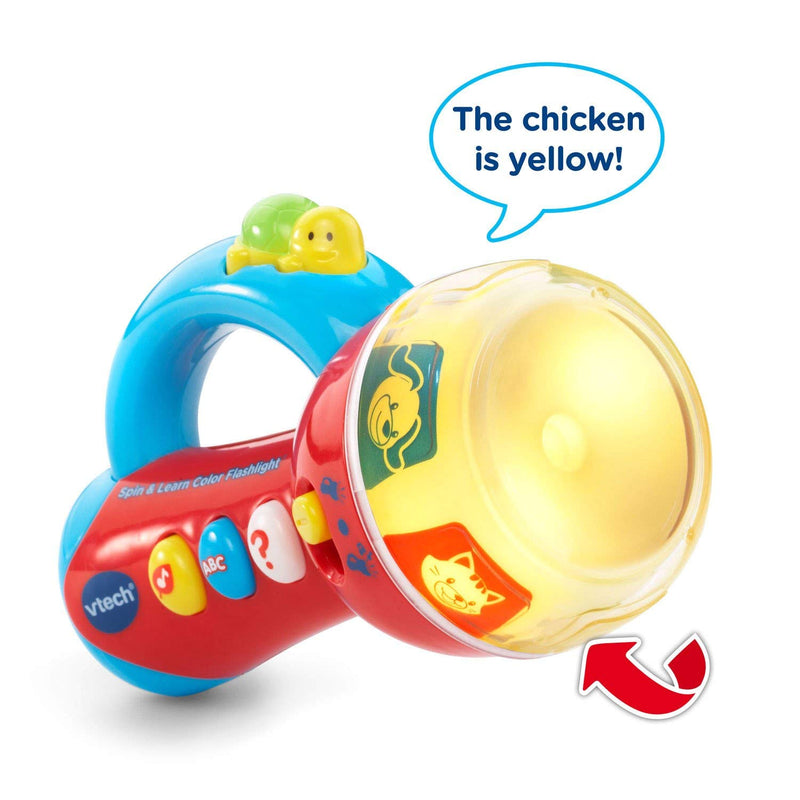 Australia VTech Spin & Learn Color Flashlight