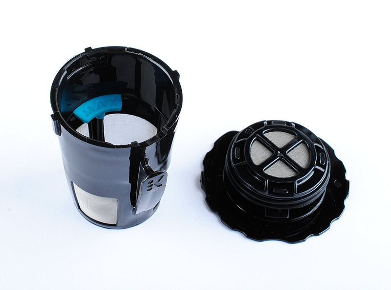 Ketofa 119367 Coffee Filter Reusable Black for K-Cup My Keurig 2.0 K200 K250 K300 K350 K400 K450 K460 K475 K460 K500 K550 K560 K575 Brewers(Pack of 4)