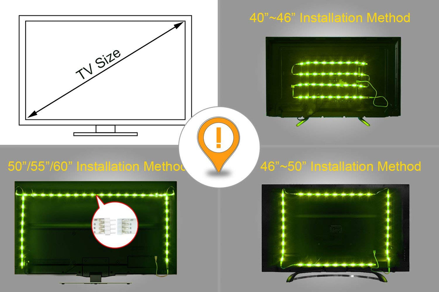 Australia LED TV Backlight, Maylit 2M/6 56ft RGB Neon Accent