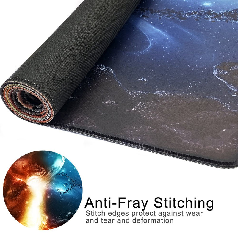 Australia Cmhoo XXL Professional Large Mouse Pad & Computer Game Mouse Mat (35.4x15.7x0.1IN, 90x40 fireball007)