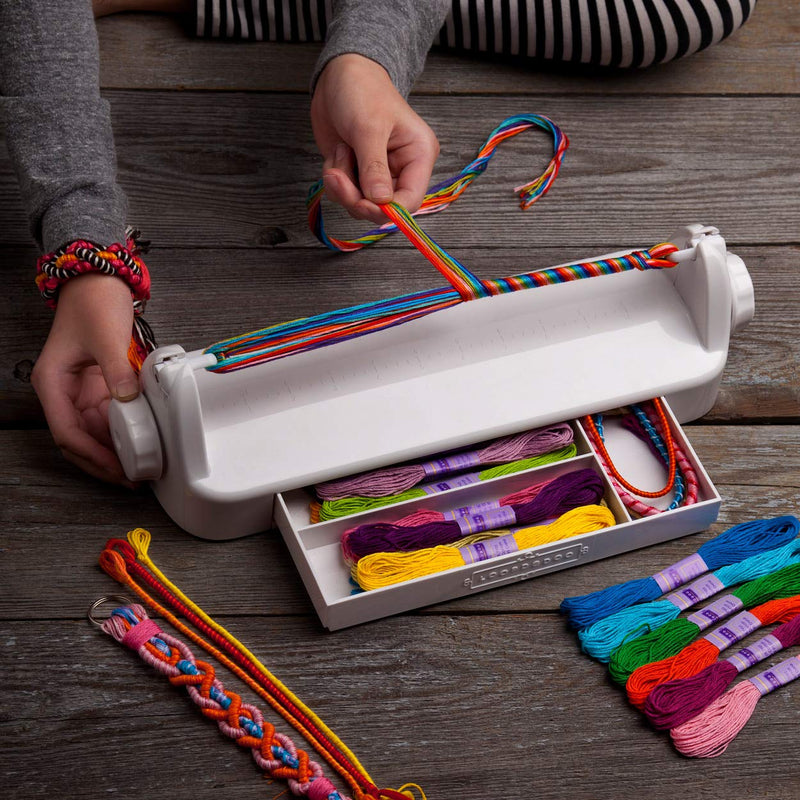 Australia Loopdedoo – Spinning Loom Friendship Bracelet Maker – Award-Winning Craft Kit – Design Your Own Bracelets & Make Them In Minutes – New Edition