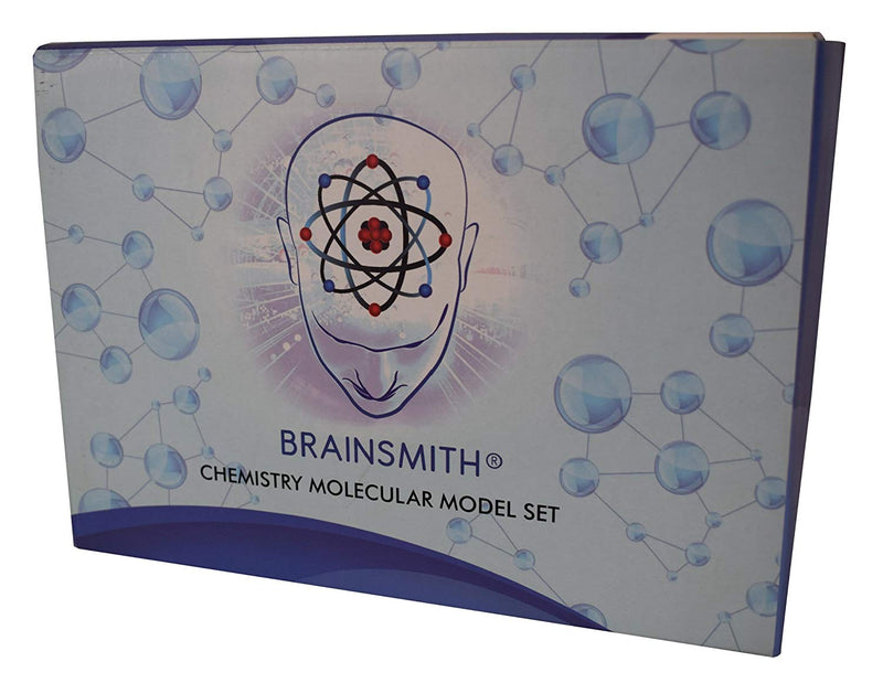 Brainsmith Chemistry Set Kids, College Students & Teachers - Advanced Organic Molecular Model Kit Bundle Bonus Periodic Table Wall Poster - 315 Piece Atom & Bond Mega Set