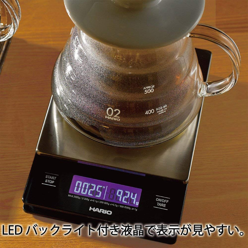 Australia Hario V60 Stainless Steel Drip Scale
