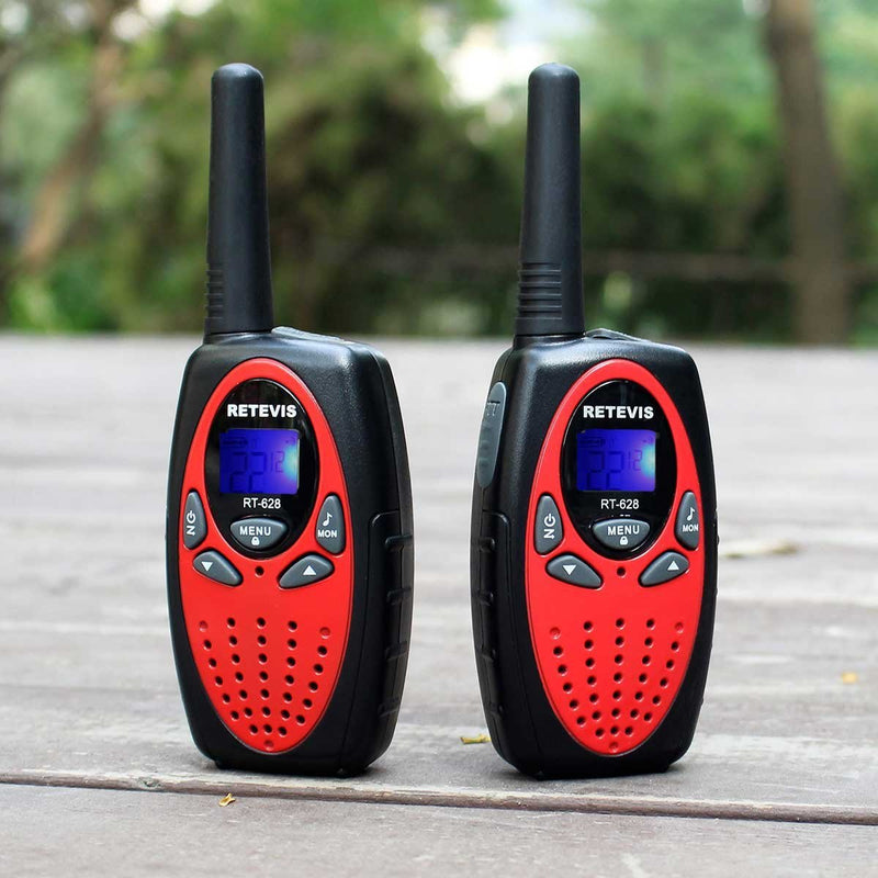 Retevis RT628 Kids Walkie Talkies 22 Channel FRS Toy for Kids UHF 462.550- 467.7125MHz 2 Way Radio Toy Australia