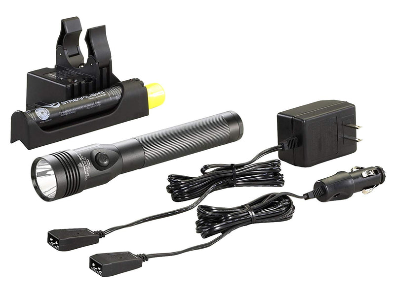 Australia Streamlight 75458 Stinger DS LED High Lumen Rechargeable Flashlight with 120-Volt AC/12-Volt DC Piggyback Charger - 800 Lumens