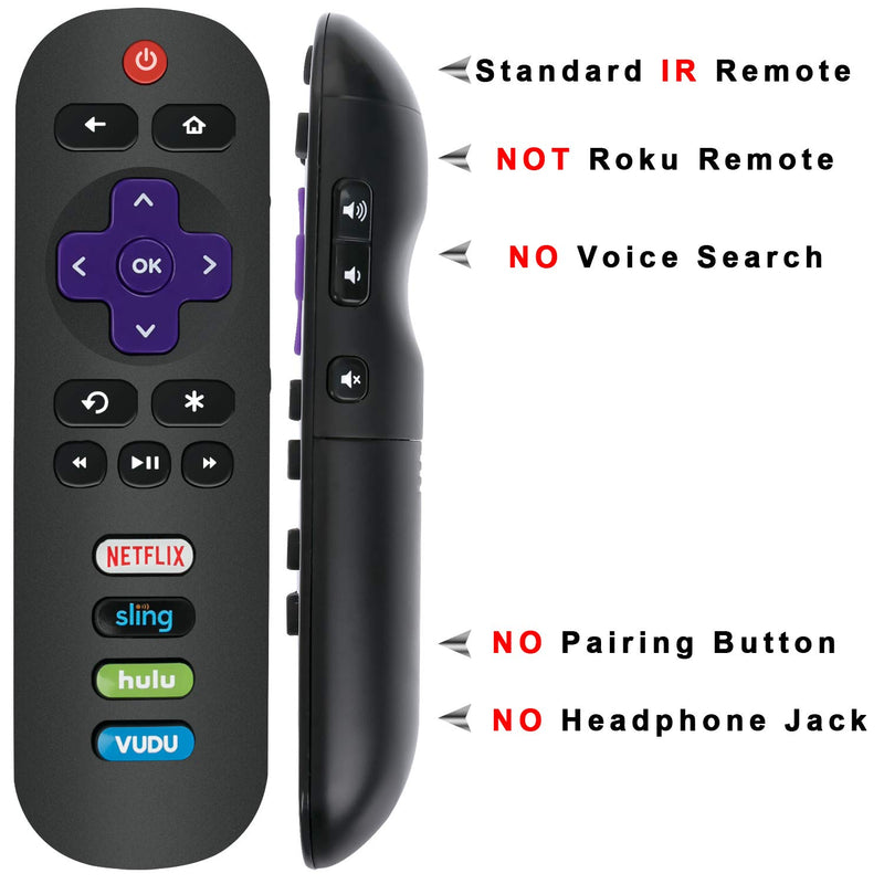 New RC280 IR Remote Control fit for TCL ROKU TV 28S305 32S3800 32S3850  50UP130 55C803 55US5800 65C803 65S401 65S403 65S405 65US5800 75C803  40FS3800