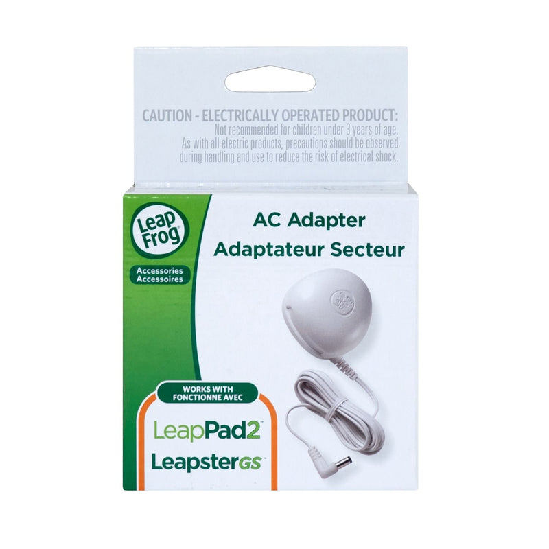Australia LeapFrog AC Adapter (Works with all LeapPad2 and LeapPad1 Tablets, LeapsterGS Explorer, Leapster Explorer and  Leapster2)
