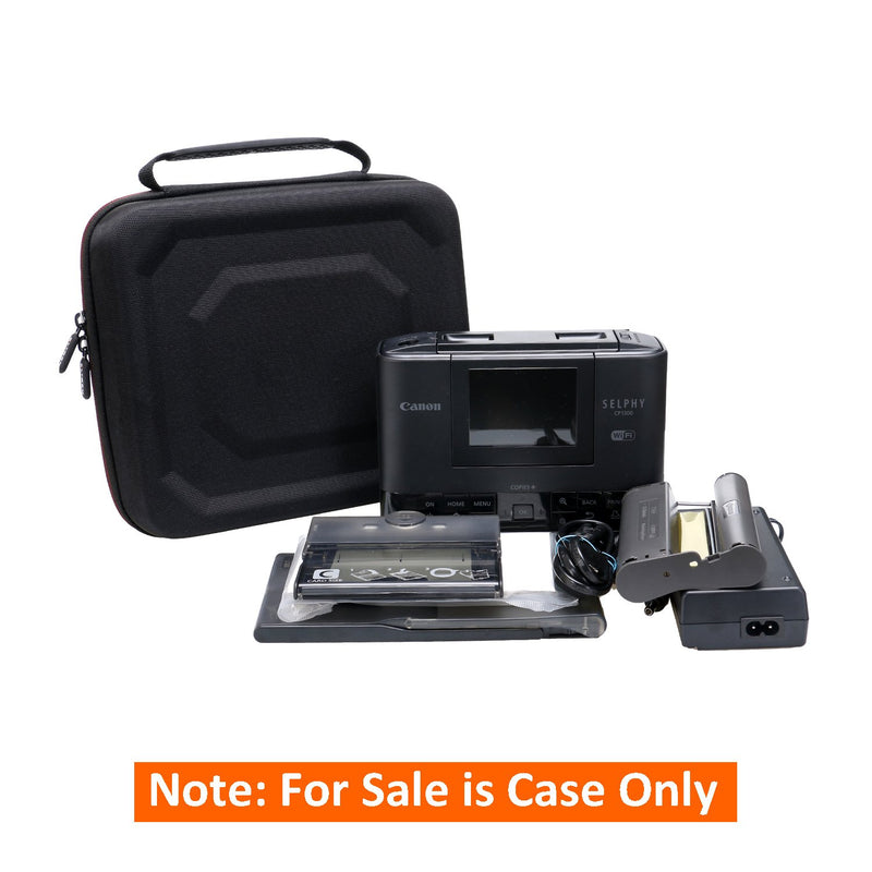 Australia LTGEM EVA Hard Case for Canon SELPHY CP1200 & CP1300 Wireless Compact Photo Printer - Travel Protective Carrying Storage Bag