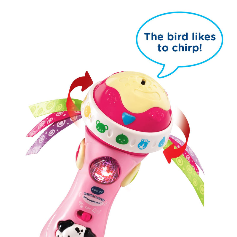 Australia VTech Baby Babble & Rattle Microphone Amazon Exclusive, Pink