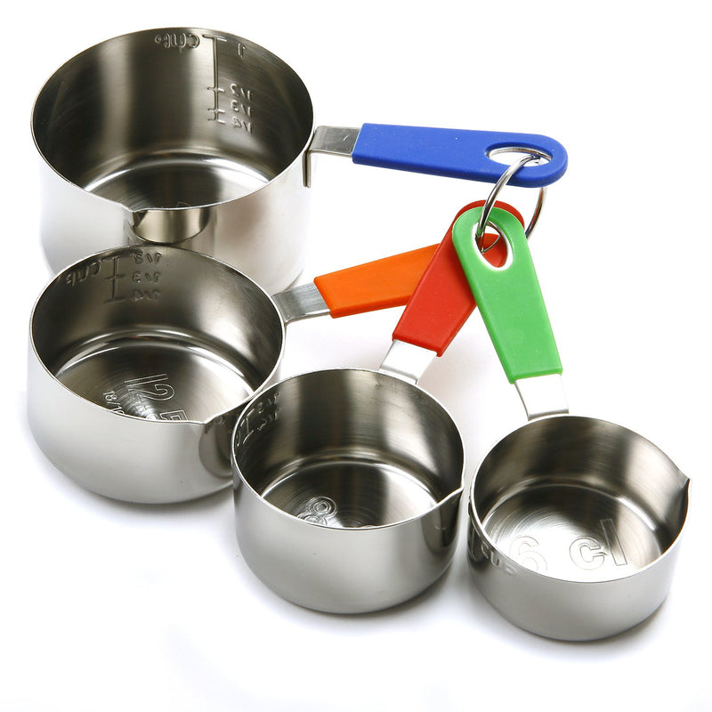 Australia Norpro Stainless Steel Measuring Cup W/Silicone Handle