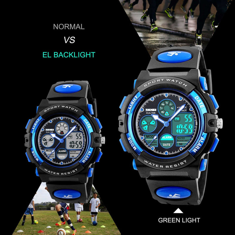Australia Australia Kids Sports Digital Watch, Boys Girls Outdoor Waterproof Watches Children Australia