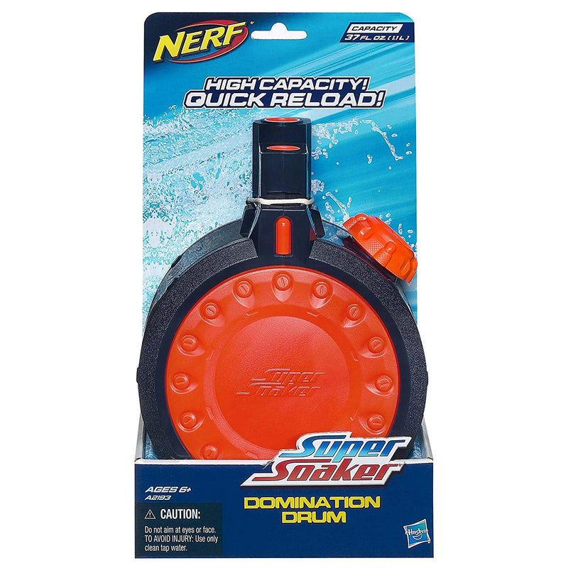 Australia Super Soaker Nerf Domination Drum Water Clip