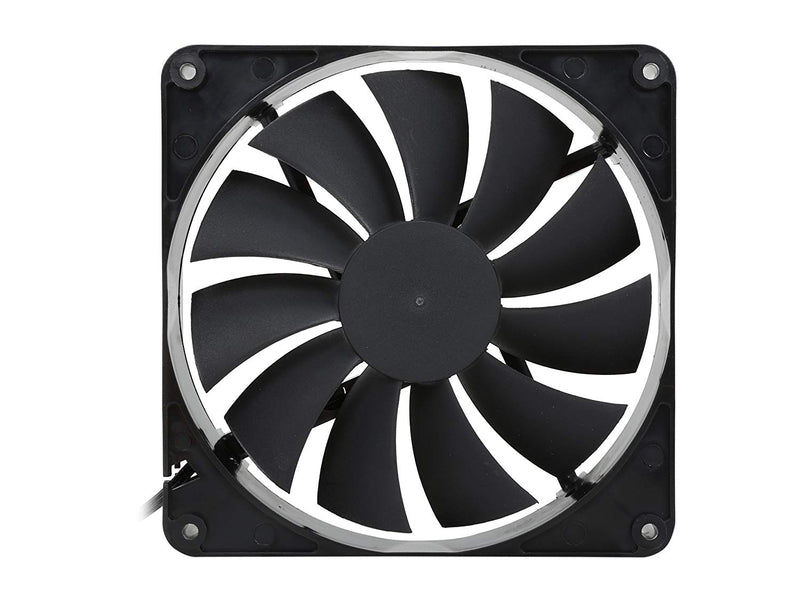 Australia 140mm Case Fan 2-Pack Computer Case Fan with Advanced Fluid Dynamic Bearing for Ultra Quietness and Silent Operation Standard 140 mm Case Fan 2 Pack with 3 Pin & Molex / LP4 Connectors