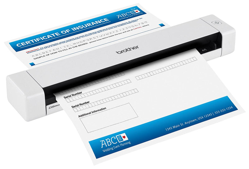 Australia Brother DS-620 Mobile Color Page Scanner