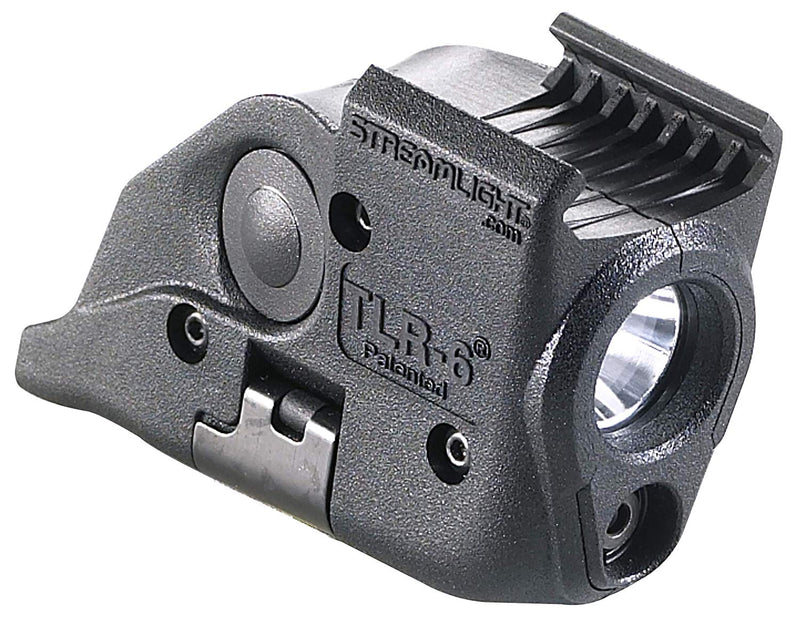 Australia Streamlight 69293 TLR-6 Tactical Pistol Mount Flashlight 100 Lumen with Integrated Red Aiming Laser Only for M&P Railed Hand Guns, Black - 100 Lumens