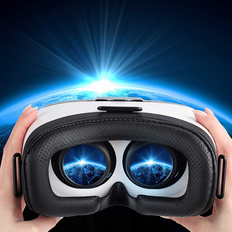 Australia digib Virtual Reality Goggles for iPhone & Android Phones | 3D Virtual Glasses | AR/VR Headset Perfect Work with Max Size Smartphones | Eye-Safe Adjustable HD Quality Lenses