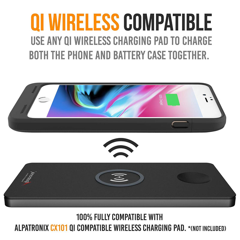 low priced 9458c 09911 iPhone 8 Plus / 7 Plus Battery Case Qi Wireless Charging Compatible, A