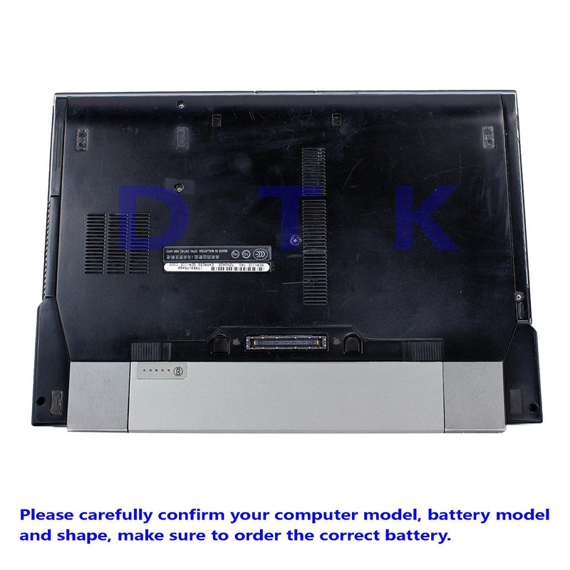 Dtk New Laptop Notebook Battery Replacement for Dell Computer Latitude E6400 E6410 E6500 E6510 Precision M2400 M4400 M4500 6-cell