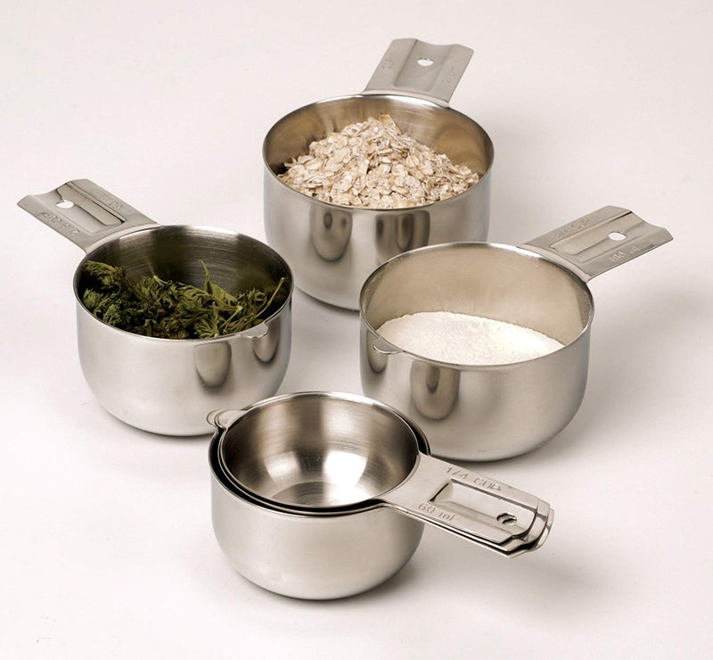 Australia RSVP Endurance 18/8 Stainless Steel Nesting Measuring Cups, Set of 6