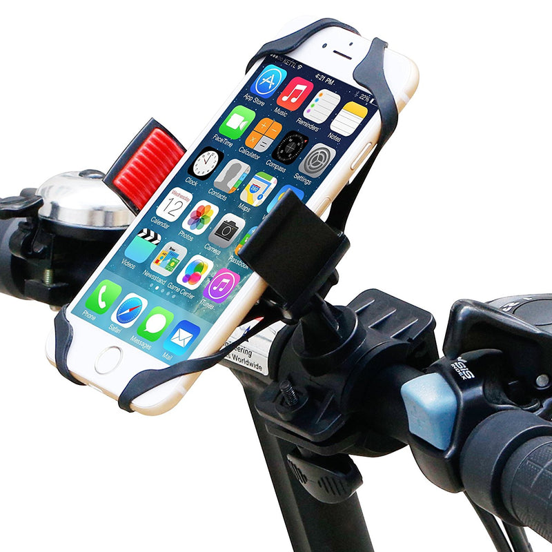 Australia Bike Mount, Ipow Universal Cell Phone Bicycle Rack Handlebar & Motorcycle Holder Cradle for iPhone 6 6(+) 6S 6S plus 5S 5C, Samsung Galaxy S3 S4 S5 S6 S7 Note 3/4/5,Nexus,HTC,LG,BlackBerry,Black