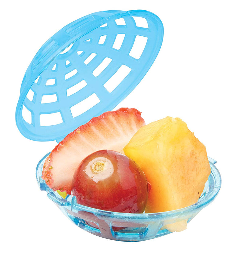 Sistema To Go Collection Fruit Infuser (Set of 3), Mini, Multicolor